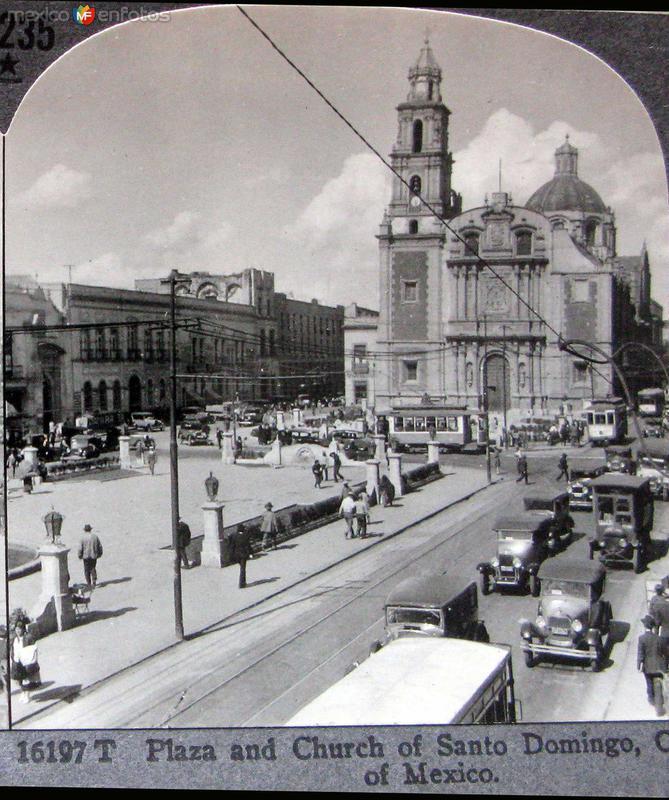 Plaza de Santo Domingo Hacia 1900