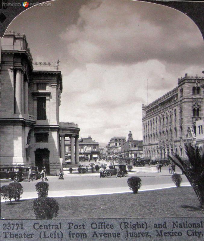 Oficina Postal Hacia 1900
