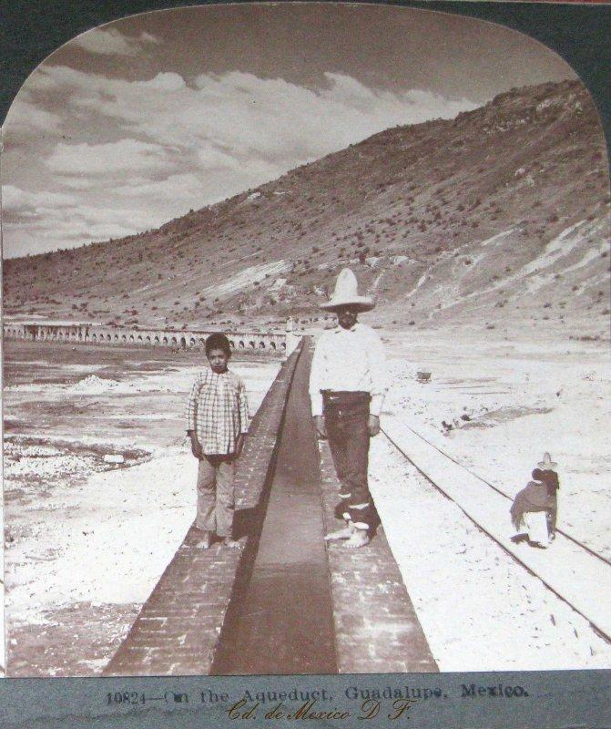 Acueducto de Guadalupe Hacia 1900