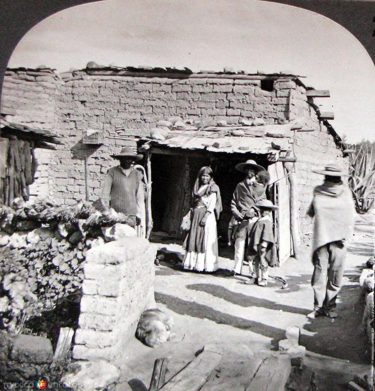 Casa de Adobe Hacia 1900