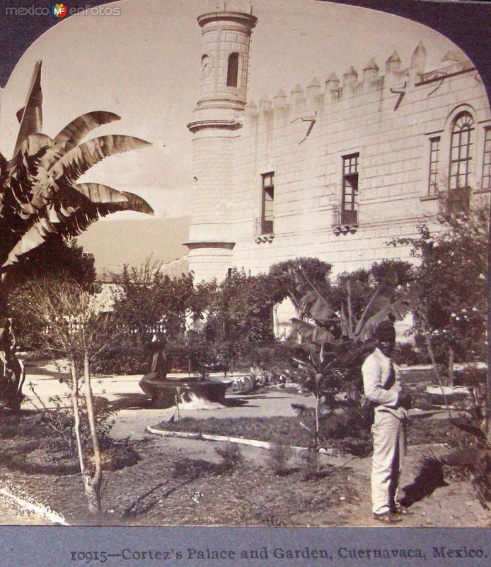 Palacio de Cortes Hacia 1900