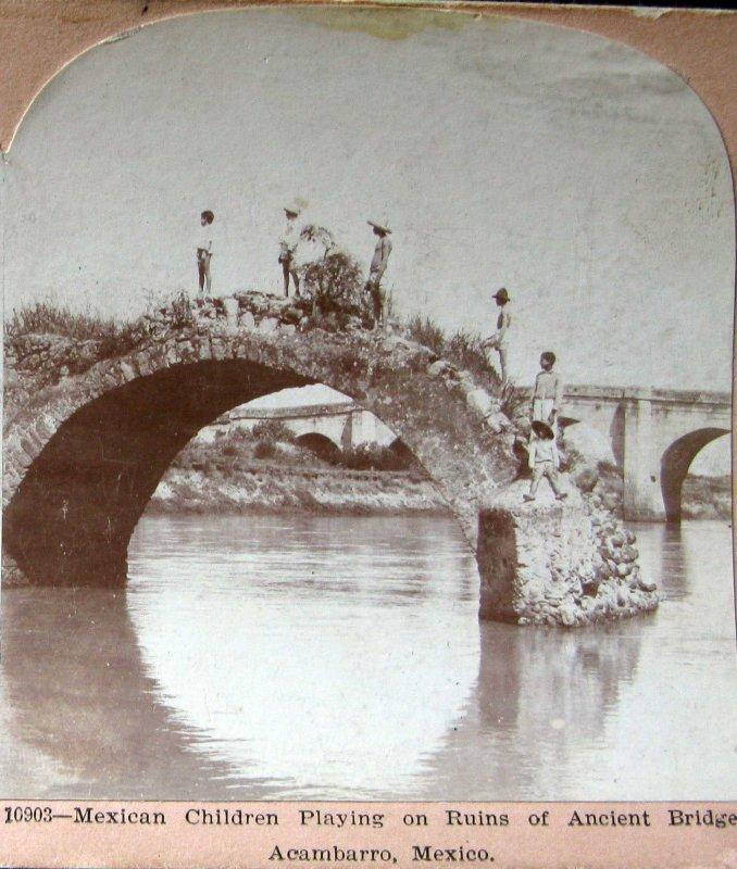 Fotos de Ac�mbaro, Guanajuato, M�xico: El Rio Hacia 1900