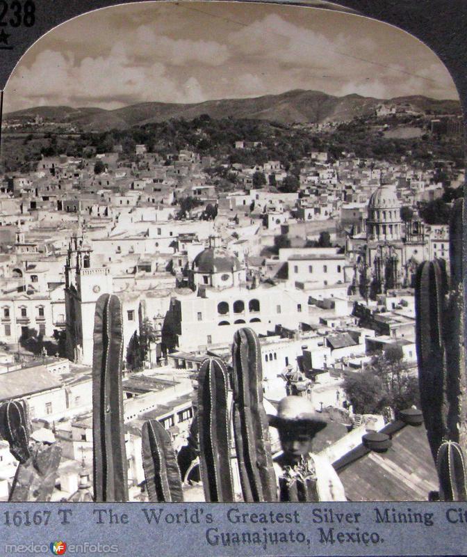 Gran Ciudad Minera Hacia 1900