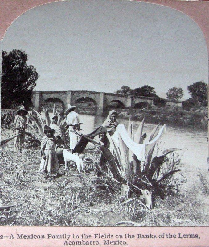 A orillas del Rio Lerma Hacia 1900
