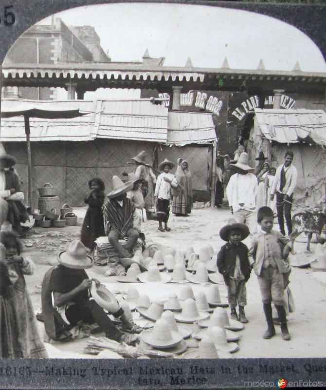 Tipico Mercado Hacia 1900