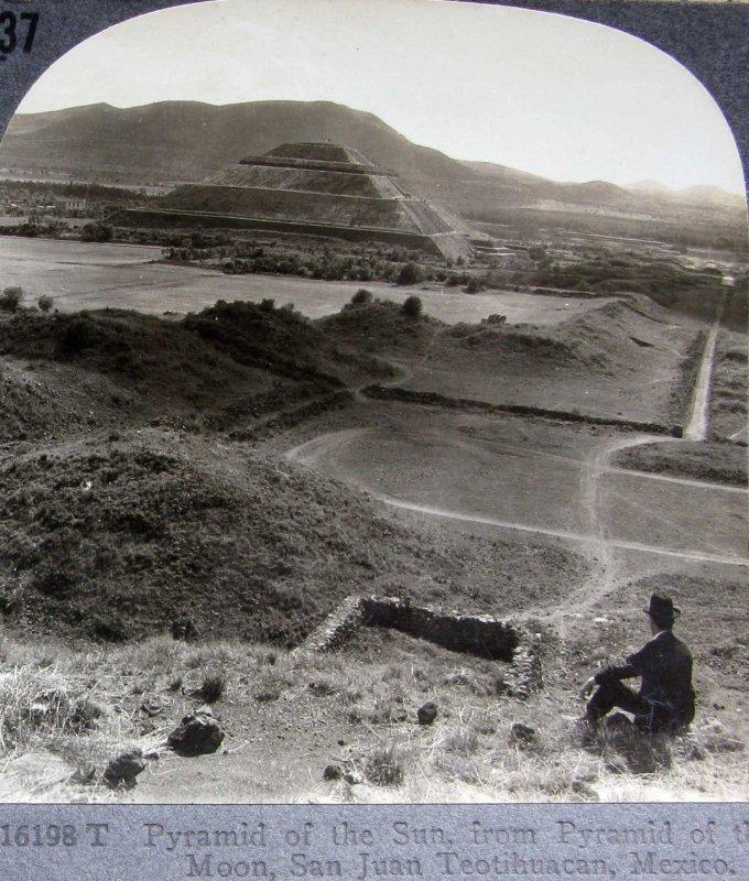 Piramide del Sol Hacia 1900