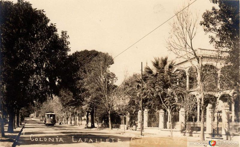 Calle Lafallete Hacia 1920