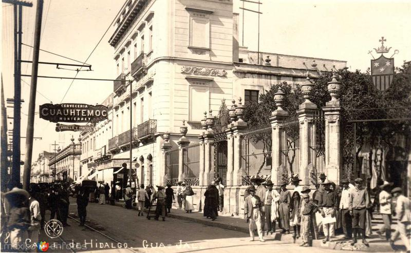 Calle Hidalgo Hacia 1920