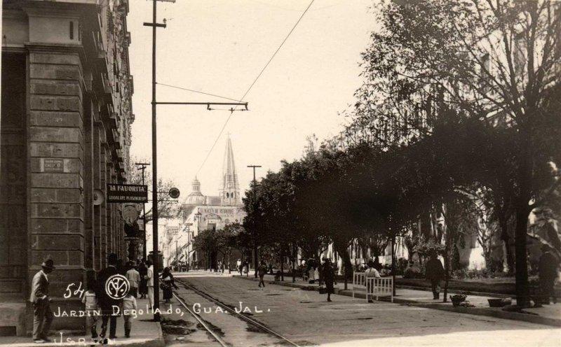 Jardin Degollado Hacia 1920