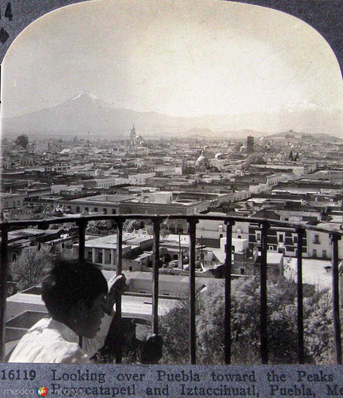 El POPO E IXTA Hacia 1900