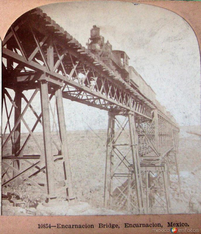 Puente Ferroviario Hacia 1900