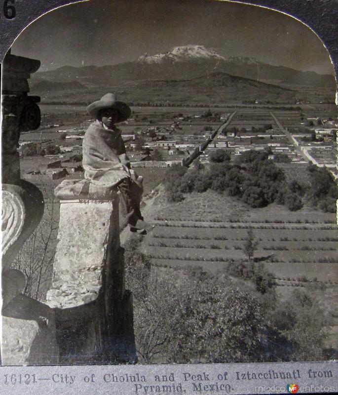 El Ixtaccihuatl Hacia 1900
