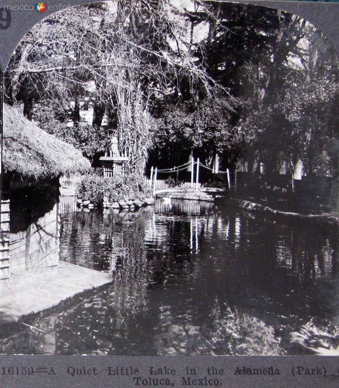 Parque Alameda Hacia 1900