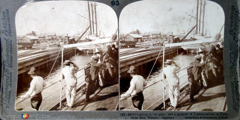 Coatzacoalcos Veracruz Embarques Hacia 1900