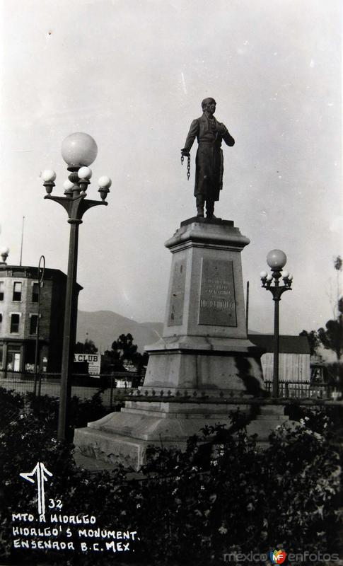 Fotos de Ensenada, Baja California, M�xico: Mto a Hidalgo Hacia 1945