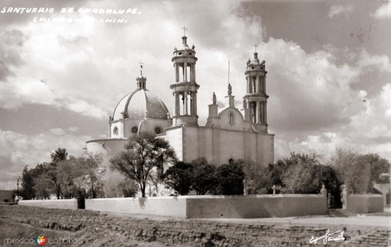 Fotos de Chihuahua, Chihuahua, M�xico: Santuario de Guadalupe