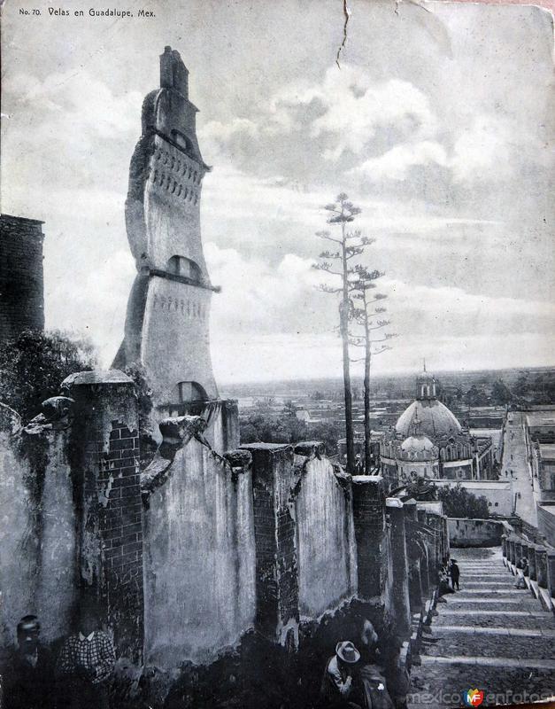 Velas en Guadalupe Hacia 1900