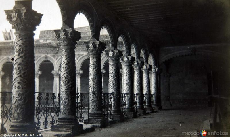 Convento de La Hacia 1900