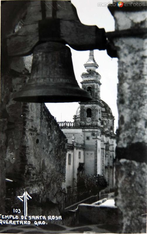 Templo de Santa Rosa Hacia 1945