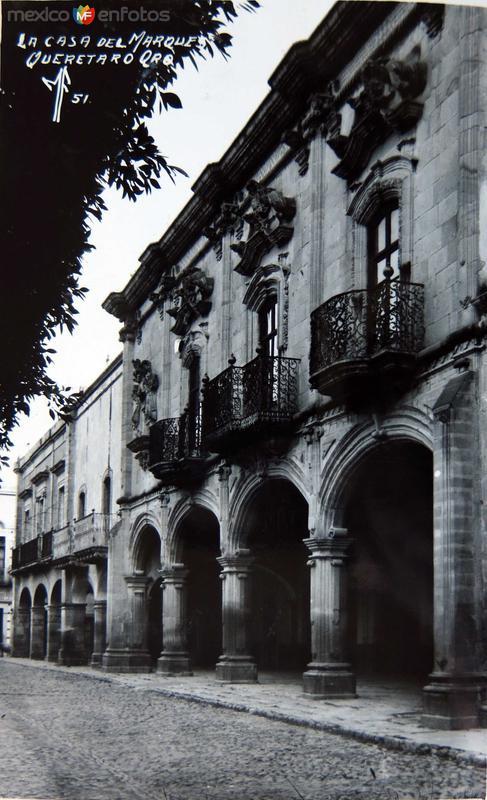 Casa del Marquez Hacia 1945
