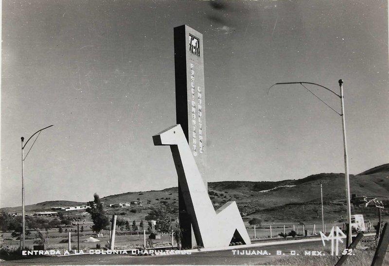 Entrada a la Colonia Hacia 1945