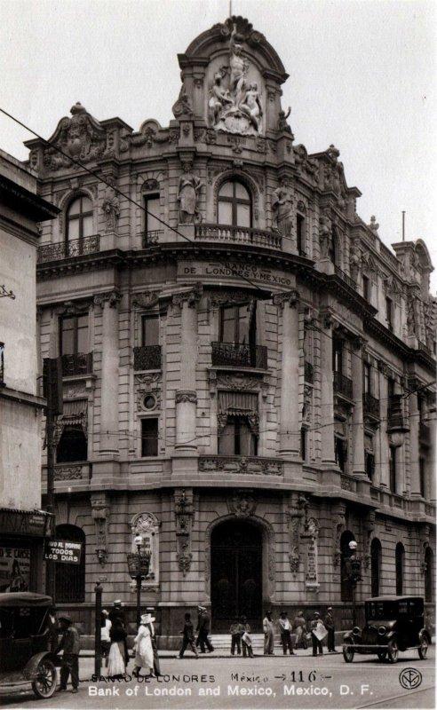 Banco de Londres y Mexico Hacia 1920