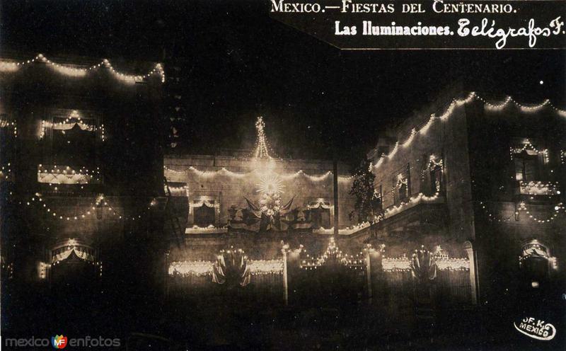 Fiestas del Centenario (16 de Sep. de 1910)por FEDERICO KALHO Hacia 1910