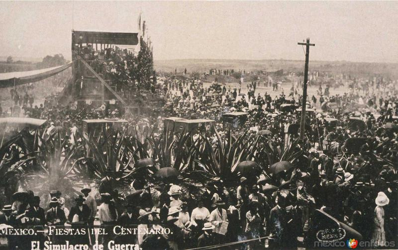 Fiestas del Centenario Por: GUILLERMO KALHO Hacia 1910