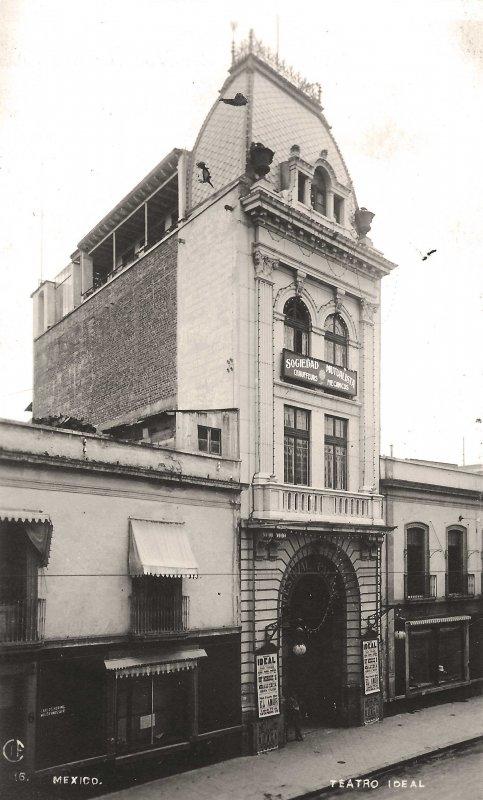 Fotos de Ciudad de M�xico, Distrito Federal, M�xico: Teatro Ideal  Hacia 1900