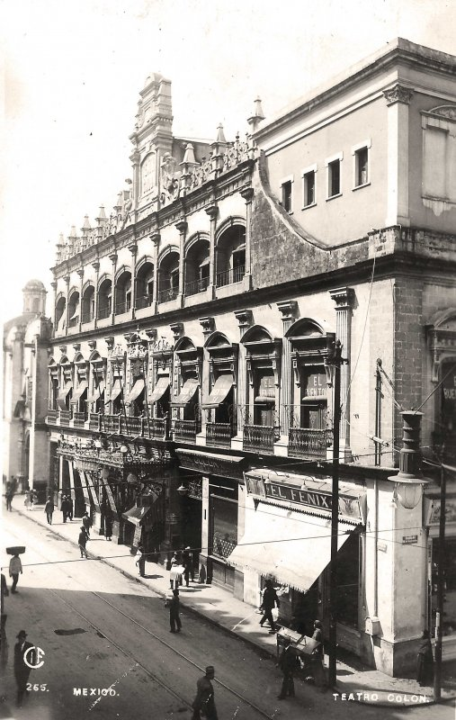 Teatro Colon Hacia 1945