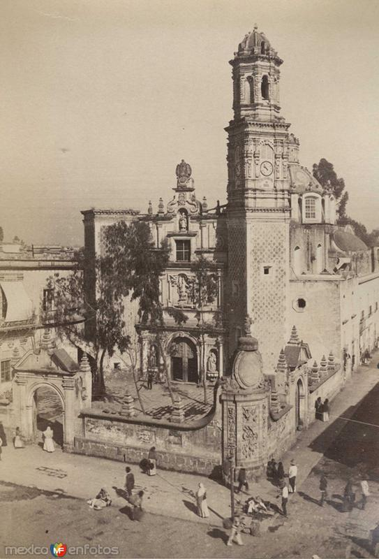 Iglesia de San Hipolito Hacia 1900