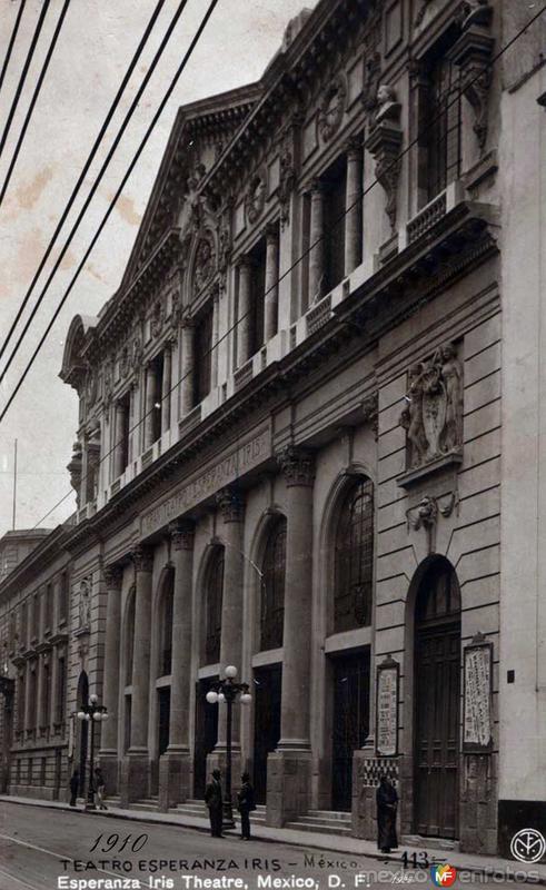 TEATRO ESPERANZA IRIS Hacia 1940