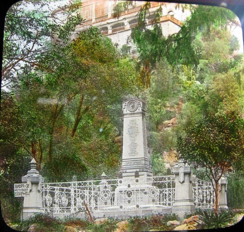Chapultepec Mto. a niños Heroes Hacia 1900