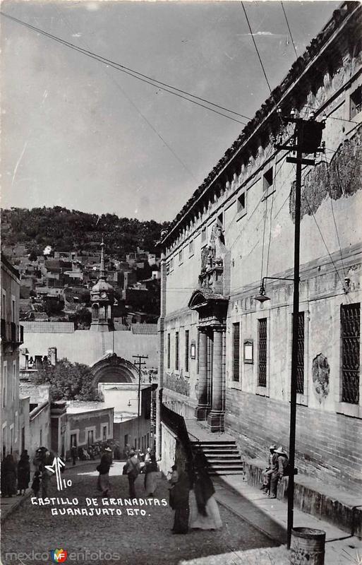 Castillo de Granaditas Hacia 1945