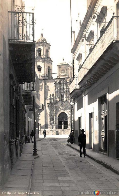 Calle de Sopena Hacia 1945