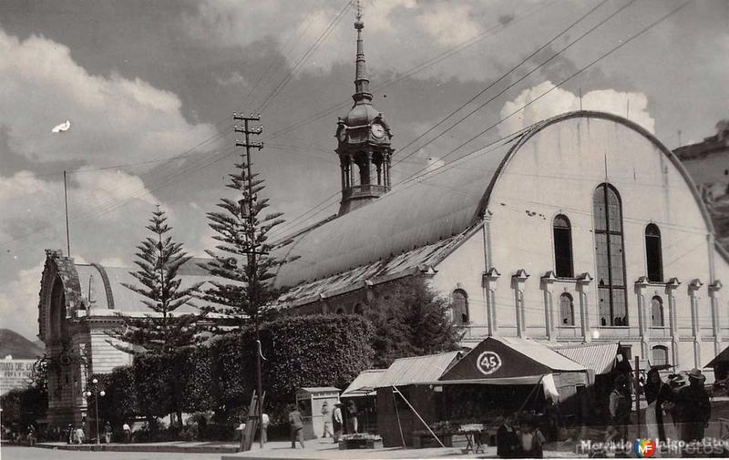 Mercado Hidalgo Hacia 1945