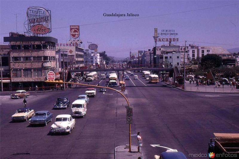 Fotos de Guadalajara, Jalisco, M�xico: Calzada Independencia Hacia 1960