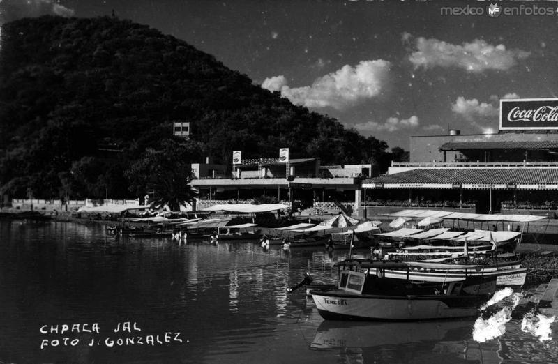 Estacionamiento Barcazas 1945
