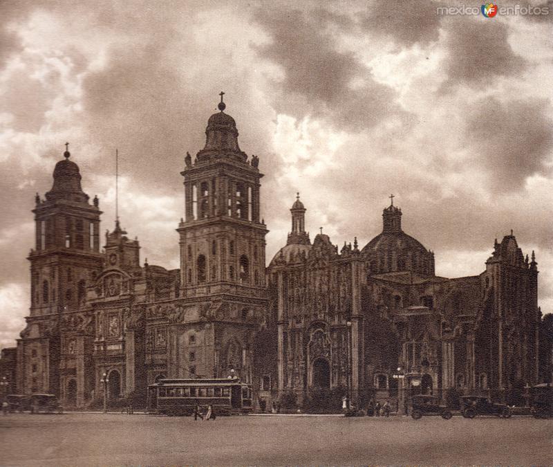 Catedral Metropolitana (circa 1920)