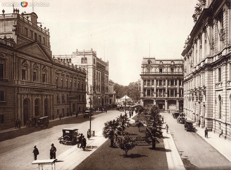 Calle de Tacuba (circa 1920)