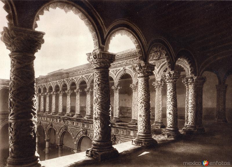 Fotos de Ciudad de M�xico, Distrito Federal, M�xico: Convento de la Merced (circa 1920)