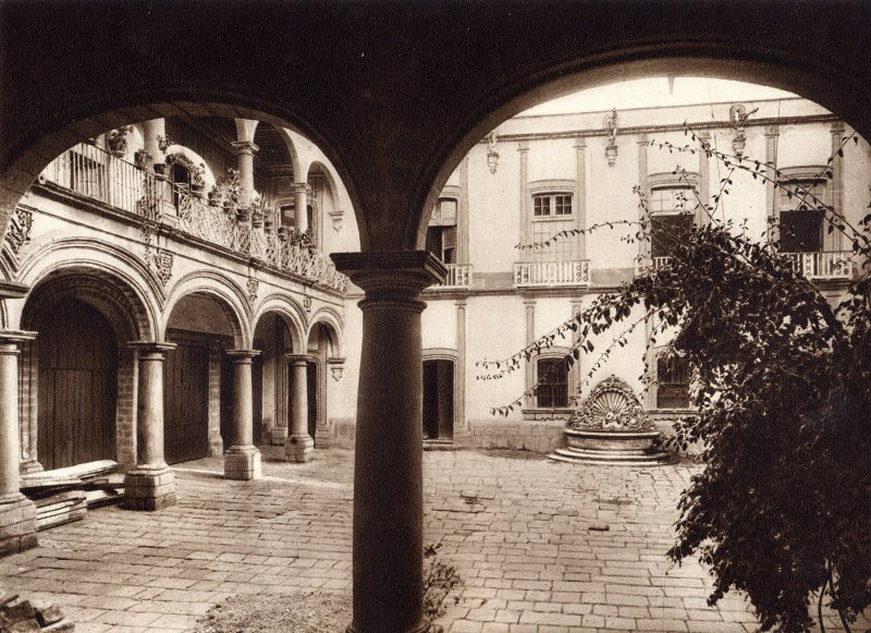 Fotos de Ciudad de México, Distrito Federal, México: Casa de los Condes de Santiago (circa 1920)
