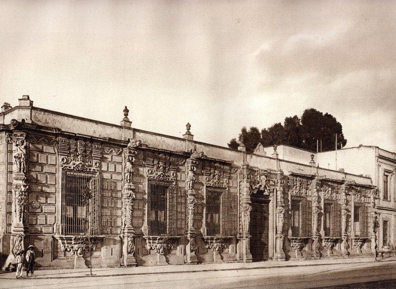 Casa de los Mascarones (circa 1920)