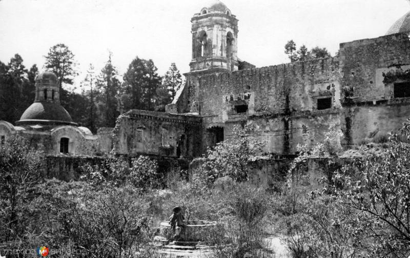 Convento del Desierto de los Leones (circa 1920)