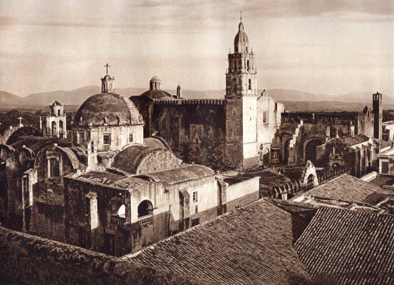 Catedral de Cuernavaca (circa 1920)