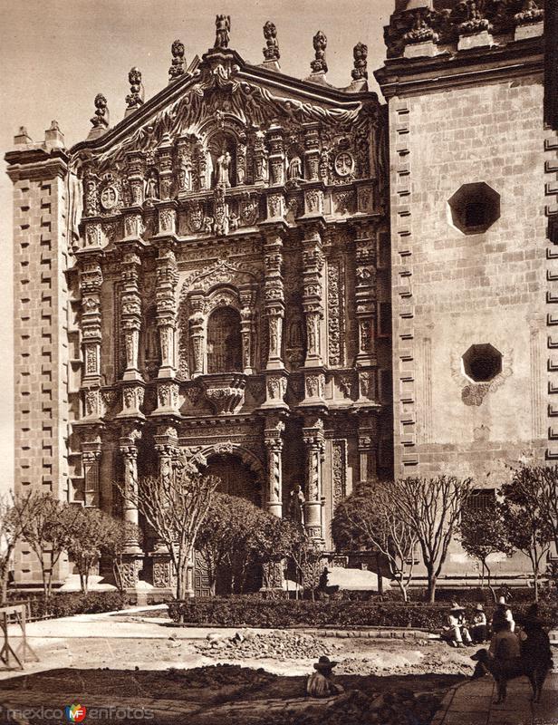 Iglesia del Carmen (circa 1920)