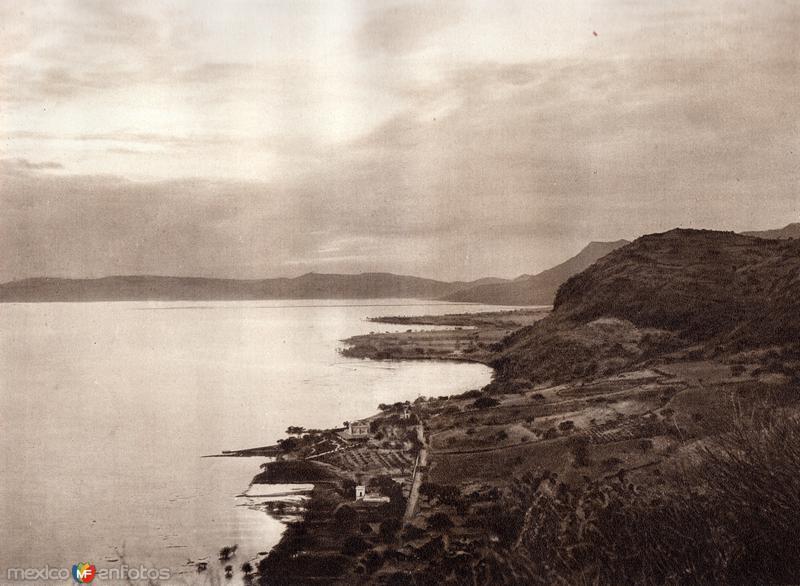 Fotos de Chapala, Jalisco, M�xico: Lago de Chapala (circa 1920)