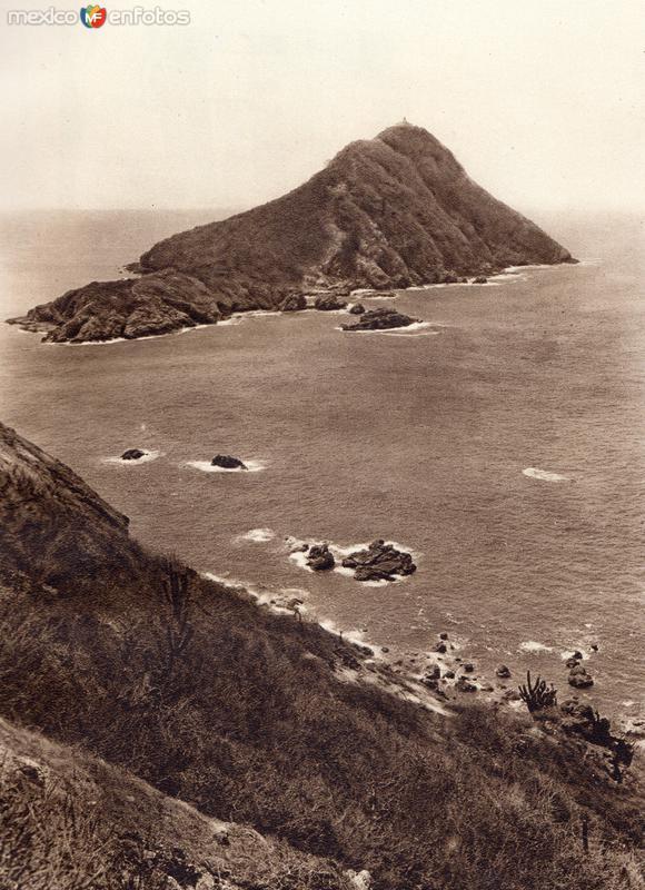 Fotos de Mazatl�n, Sinaloa, M�xico: Costa de Mazatl�n (circa 1920)