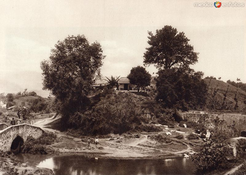 Fotos de Xalapa, Veracruz, M�xico: Alrededores de Xalapa (circa 1920)