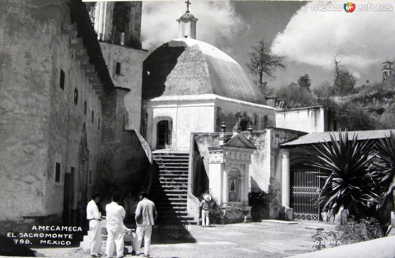 Iglesia del Sacromonte Hacia 1945